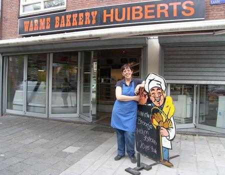 Yvonne van der hoogte voor warme bakkerij huiberts for Bakkerij amsterdam west
